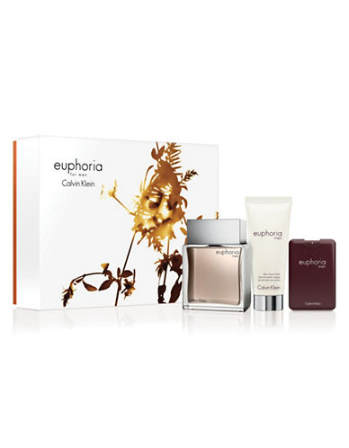 Calvin Klein Three-Piece Euphoria For Men Set-0-100 ml