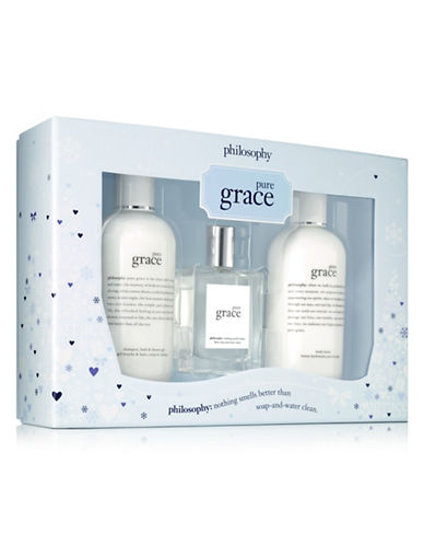 Philosophy Three-Piece Pure Grace Gift Set-NO COLOR-One Size