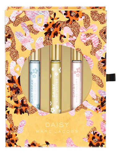 Marc Jacobs Daisy Holiday Rollerball Three-Piece Set-0-One Size