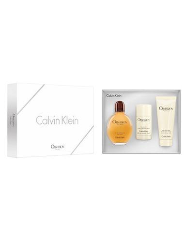 Calvin Klein Obsession for Men Three-Piece Gift Set-0-125 ml