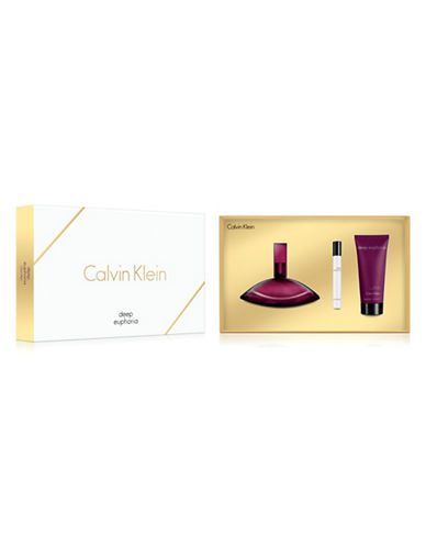 Calvin Klein Deep Euphoria Three-Piece Gift Set-0-100 ml