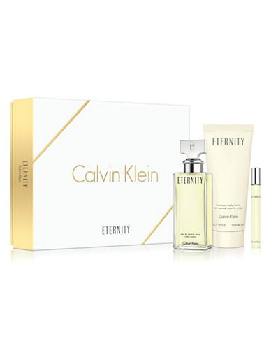 Calvin Klein Eternity Three-Piece Gift Set-NO COLOUR-100 ml