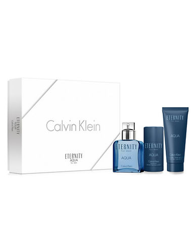Calvin Klein Eternity Aqua Men Three-Piece Gift Set-0-100 ml