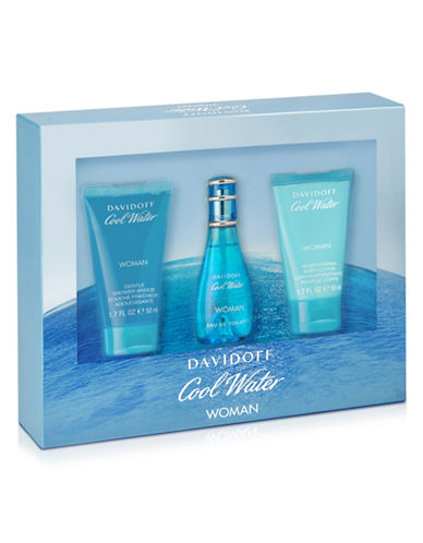 Davidoff Cool Water Three-Piece Set-NO COLOUR-One Size