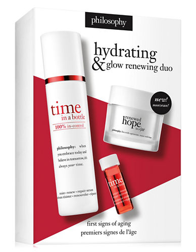 Philosophy Time in a Bottle Three-Piece Set-NO COLOR-40 ml