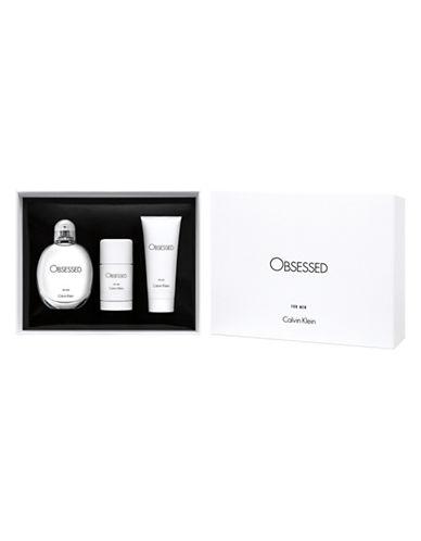 Calvin Klein Obsessed for Men Three-Piece Gift Set-0-125 ml
