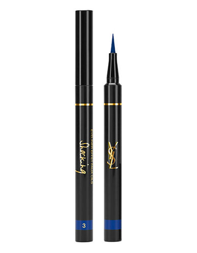 Yves Saint Laurent Eyeliner Effet Faux Cils Shocking Summer Collection-3 DEEP BLUE-One Size