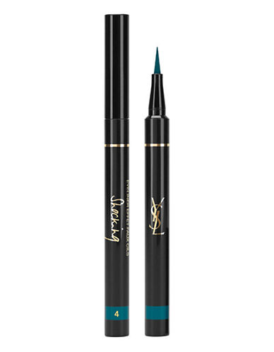 Yves Saint Laurent Eyeliner Effet Faux Cils Shocking Summer Collection-4 DEEP GREEN-One Size
