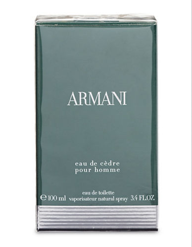 Giorgio Armani Eau De Cedre Eau De Toilette-NO COLOUR-100 ml