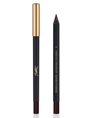 Yves Saint Laurent Dessin Du Regard Waterproof Eye Pencil-BURGUNDY-One Size