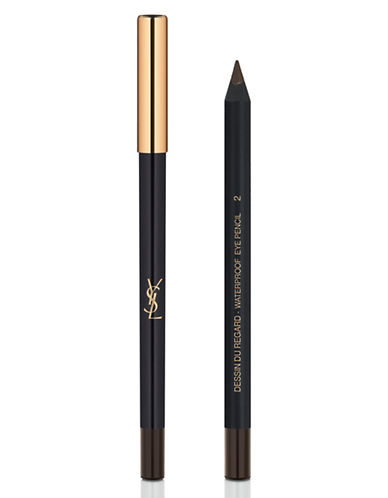 Yves Saint Laurent Dessin Du Regard Waterproof Eye Pencil-BROWN-One Size