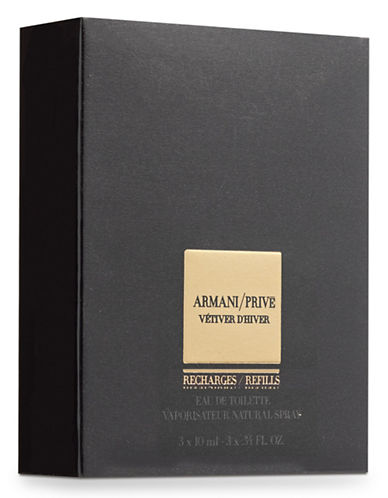 Giorgio Armani Prive Vetiver Dhiver Eau De Toilette Vaporisateur Natural Spray Refill Bottles-NO COLOR-30 ml