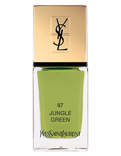 Yves Saint Laurent La Laque Couture Jungle Green Nail Polish-GREEN 87-10 ml