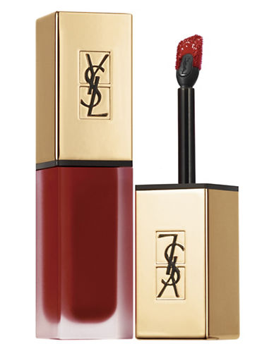 Yves Saint Laurent Tatouage Couture Matte Stain-N8 BLACK RED CODE-6 ml