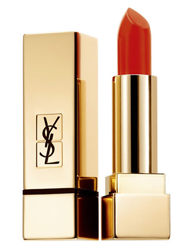 Yves Saint Laurent Rouge Pur Couture Matte Lipstick-BLOOD ORANGE-One Size