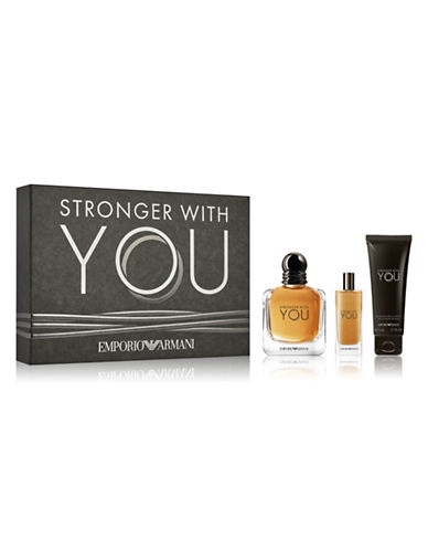 Giorgio Armani BEST PICK Stronger With You Three-Piece Set-NO COLOUR-100 ml