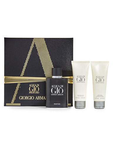 Giorgio Armani Three-Piece Acqua Di Gio Profumo Set-NO COLOUR-75 ml