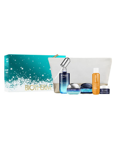 Biotherm Six-Piece Blue Therapy Serum Set-NO COLOUR-One Size