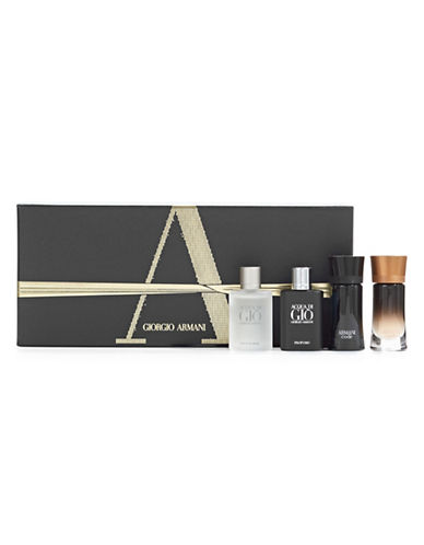 Giorgio Armani Cologne Pour Homme Gift Set-NO COLOUR-One Size