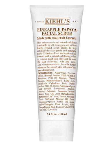 KiehlS Since 1851 Pineapple Papaya Facial Scrub-NO COLOUR-100 ml