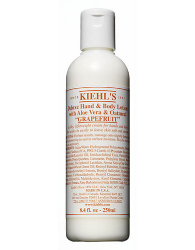 KiehlS Since 1851 Grapefruit Deluxe Hand and Body Lotion with Aloe Vera and Oatmeal-NO COLOUR-250 ml