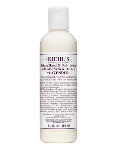 KiehlS Since 1851 Lavender Deluxe Hand and Body Lotion with Aloe Vera and Oatmeal-NO COLOUR-250 ml