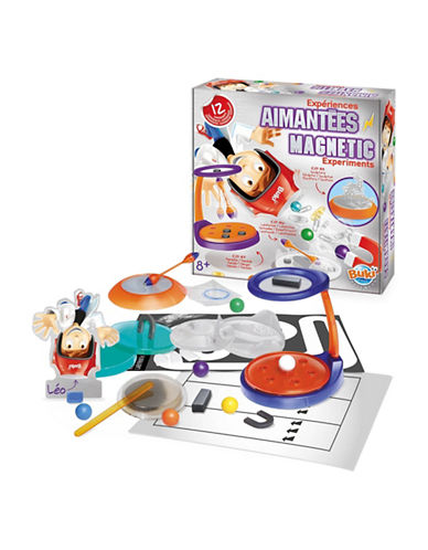 Buki Magnetic Experiments Toy Set-MULTI-One Size