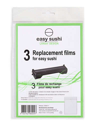 Home Outfitters Three-Piece Easy Sushi Replacement Traction Sheets-CLEAR-One Size