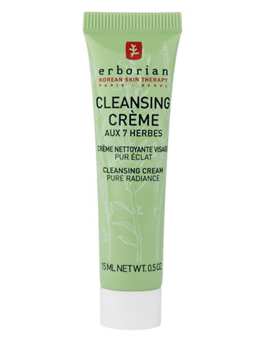 Erborian Cleansing Cream Aux 7 Herbes-NO COLOUR-15 ml