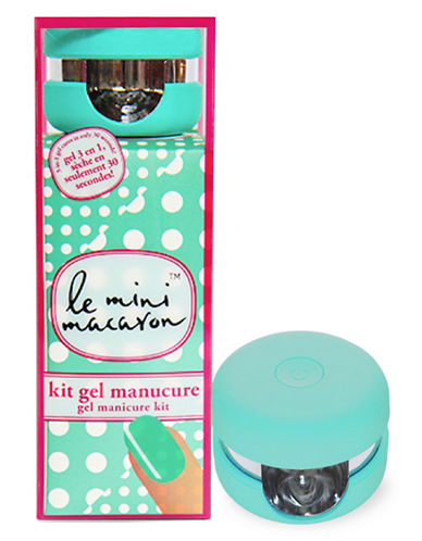 Le Mini Macaron Sweet Mint Gel Manicure Kit-SWEET MINT-One Size