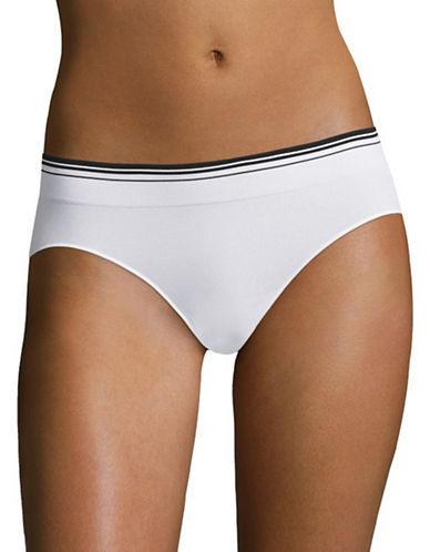 Jockey Sporties Stripe Bikini Panty-WHITE-6