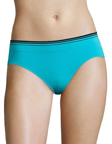Jockey Sporties Stripe Bikini Panty-TURQUOISE-7