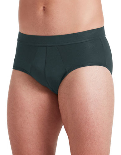 Jockey Supersoft Briefs-SILVER-Large