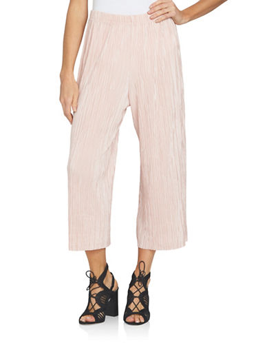 1 State At Leisure Pleated Culotte-PINK-Small