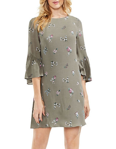 Vince Camuto Ruffle-Sleeve Floral Ditsy Dress 90079928