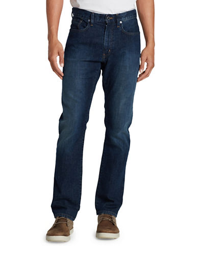 Eddie Bauer Flex Slim-Fit Jeans-BLUE-38X32