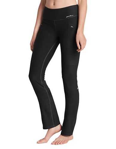 Eddie Bauer Trail Tight Pants-BLACK-X-Small