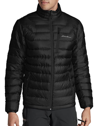 Eddie Bauer Downlight StormDown Jacket-BLACK-Small