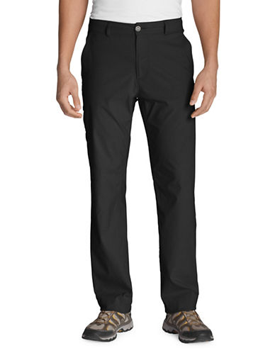 Eddie Bauer Horizon Guide Chino Pants-BLACK-33X30