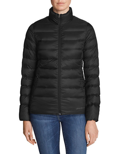 Eddie Bauer Long Sleeve Puffer Jacket-BLACK-X-Small 89591559_BLACK_X-Small