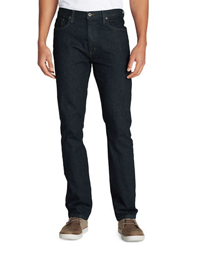 Eddie Bauer Slim Fit Flex Jeans-BLUE-38X32