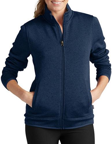 Eddie Bauer Radiator Fleece Jacket-BLUE-Small
