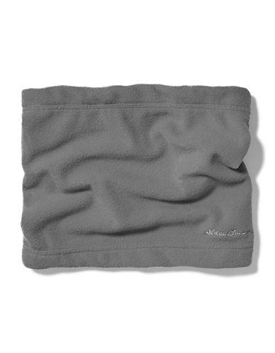 Eddie Bauer Quest Fleece Neck Gaiter-GREY-One Size