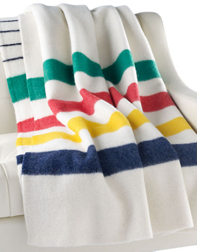 HudsonS Bay Company Iconic Point Blanket   Multistripe-MULTI-STRIPE-Twin