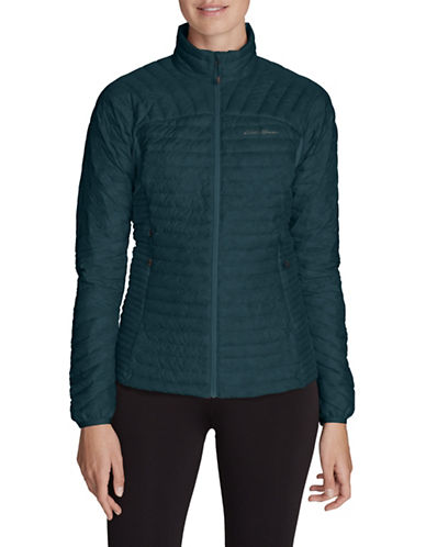 Eddie Bauer Long Sleeve Puffer Jacket-GREEN-Large