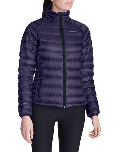Eddie Bauer Downlight Puffer Jacket-PURPLE-Medium