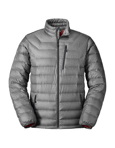 Eddie Bauer Downlight StormDown Jacket-GREY-Small