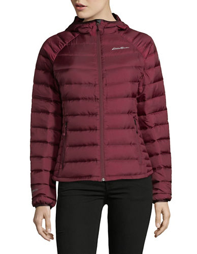 Eddie Bauer Downlight Stormdown Puffer Jacket-PURPLE-Small