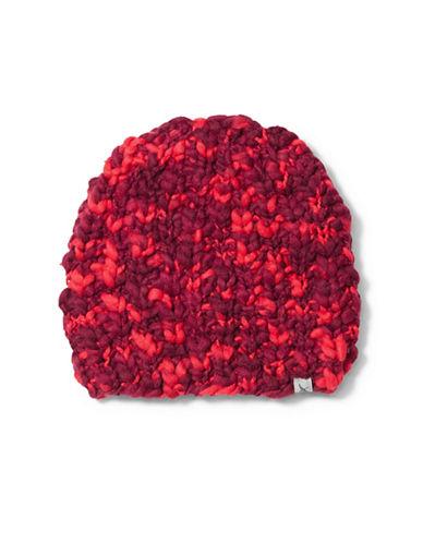 Eddie Bauer Chunky Knit Beanie-PINK-One Size