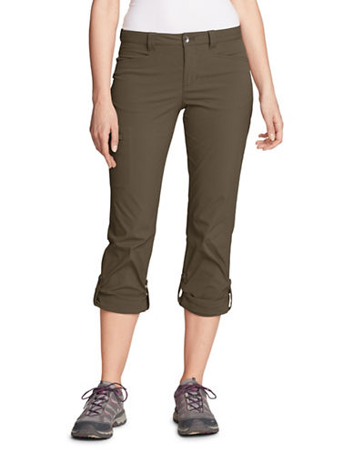 Eddie Bauer Horizon Roll-Up Pants-BROWN-10